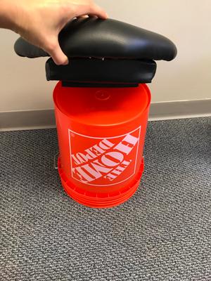 Chiropractic Richmond VA Wobble Chair Creation 03